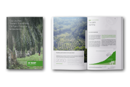 BASF Palmreport Broschüre Mockup