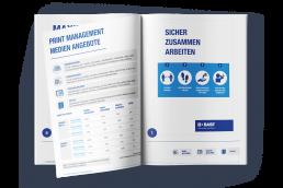 BASF Social Distancing Broschüre Mockup