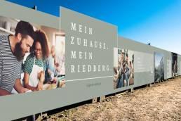 Deutsche Wohnwerte Bauzaun Berghoefe