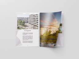 Deutsche Wohnwerte Broschüre Mockup