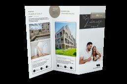 Deutsche Wohnwerte Flyer Mockup