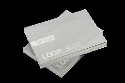 Deutsche Wohnwerte Loop Side Broschüre Mockup