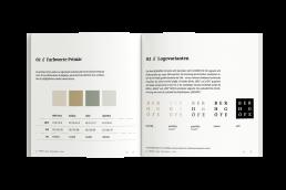 Deutsche Wohnwerte Styleguide Broschüre Mockup