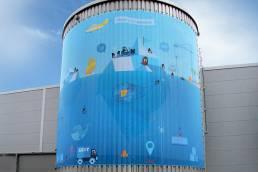 Erdt Gruppe Wassertank Design Mockup